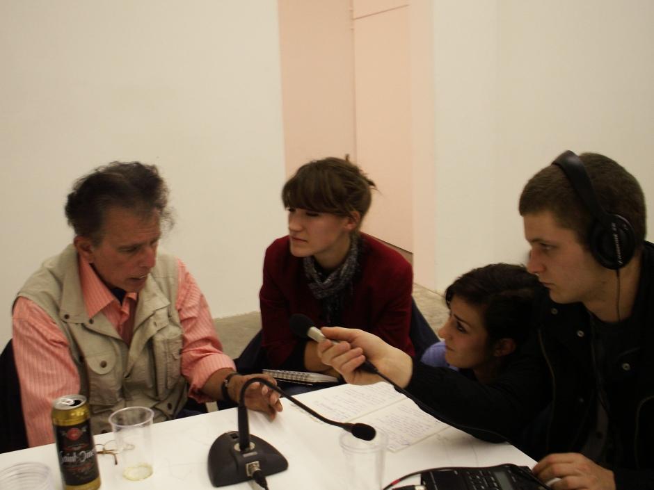 LapTopRadio chatting with Seth Siegelaub